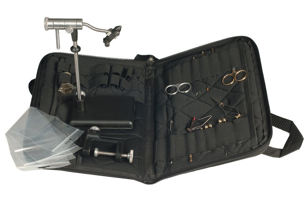 Zephr Travel Fly Tying Kit w/ Travel Bag for Fly Tying or Tying Flies