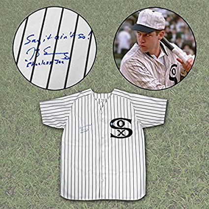 pretty nice 9286a a868b Eight Men Out Actor D.B. Sweeney Signed Joe Jackson Chicago ...