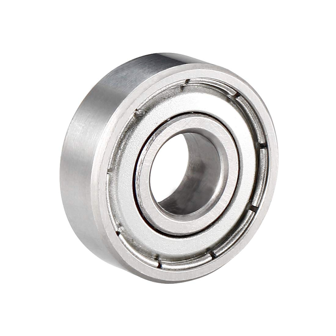 sourcing map 604ZZ Deep Groove Ball Bearing Double Shield 604-2Z 80014 4mm x 12mm x 4mm Carbon Steel Bearings Pack of 10