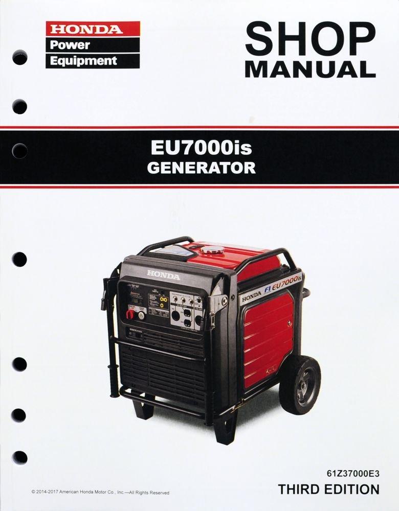amazon com honda eu7000is eu7000 generator service repair shop rh amazon com Honda Quiet Generators Honda 6500 Inverter Generator
