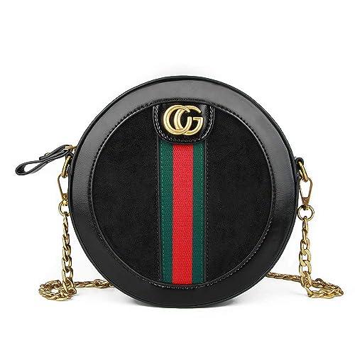 35310cff0 Olyphy round bag for women (black): Handbags: Amazon.com