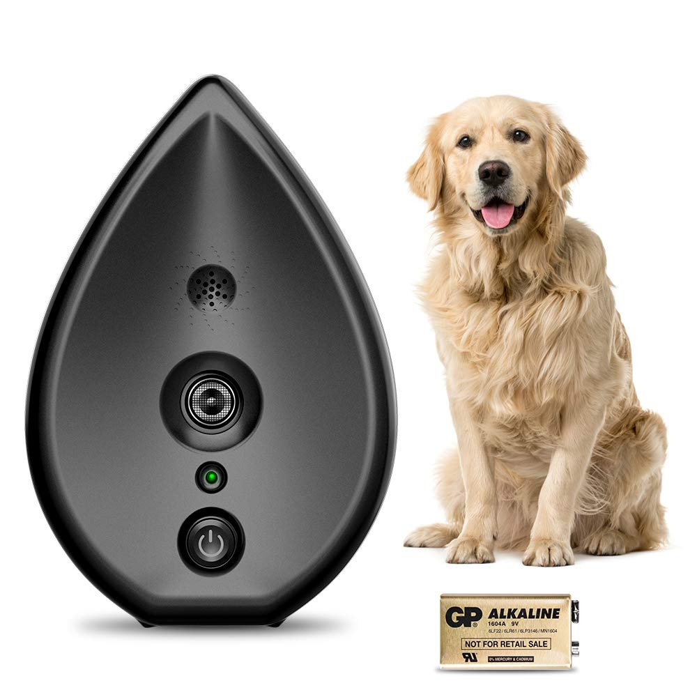 Modus Automatically Ultrasonic Bark Controller - Safe Anti-Bark Indoor and Outdoor Ultrasonic Bark Controller with Adjustable Ultrasonic Level Control by Modus