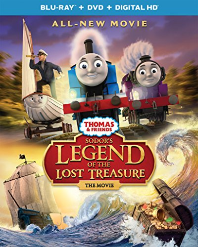 Thomas & Friends: Sodor's Legend of the Lost Treasure - The Movie [Blu-ray]