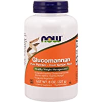 NOW Supplements, Glucomannan (Amorphophallus konjac) Pure Powder, Supports Regularity*, Healthy Weight Management*, 8…
