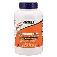 NOW Supplements, Glucomannan (Amorphophallus konjac) Pure Powder, Supports Regularity...