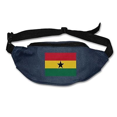 Futong Huaxia Ghana Flag Unisex Waist Packs Adjustable Outdoor Running Sport Hiking Fanny Packs Wallet free shipping
