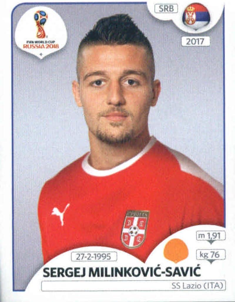 Aleksandar Prijovic Panini WM 2018 World Cup Russia Sticker 431 Serbien