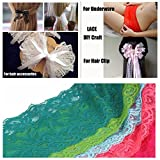 5 Yards Floral Lace Ribbon Stretch Tulle Lace Trim