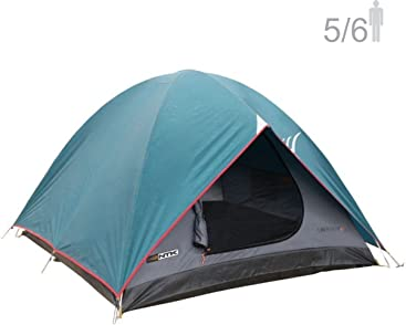 NTK Cherokee GT 5 to 6 Person 9.8 by 9.8 Foot Outdoor Dome Family Camping Tent