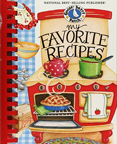 - My Favorite Recipes Cookbook (Everyday Cookbook Collection)