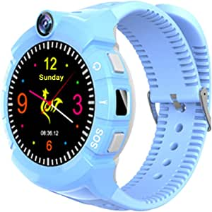 9Tong Smartwatch para Niños GPS Tracker Llamada SOS Anti-perdida ...