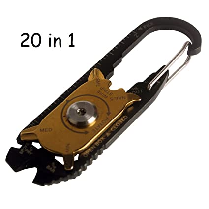 Andux Zone multifuncional herramientas práctico 20 en 1 Llave ...