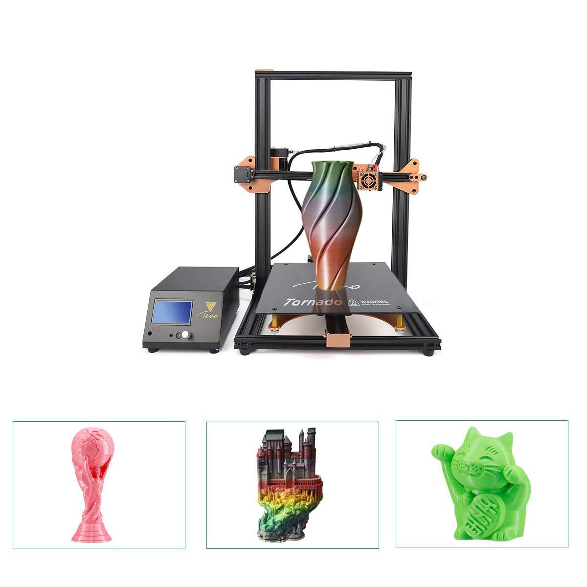 TEVO Tornado Impresora 3D con marco de aluminio completo más ...