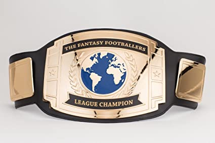 amazon com fantasyjocks custom championship belt trophy black