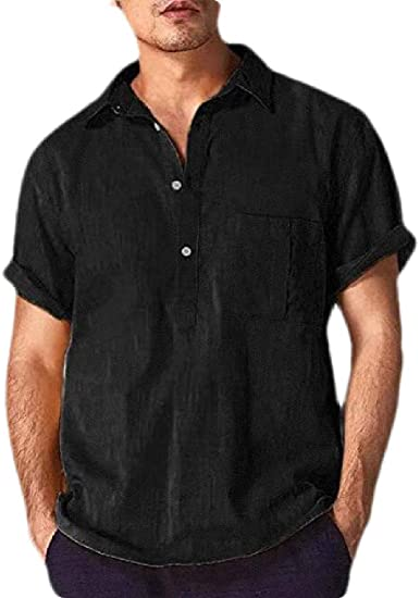 Camiseta Polo de Lino para Hombre, de Seguridad, Informal, de ...