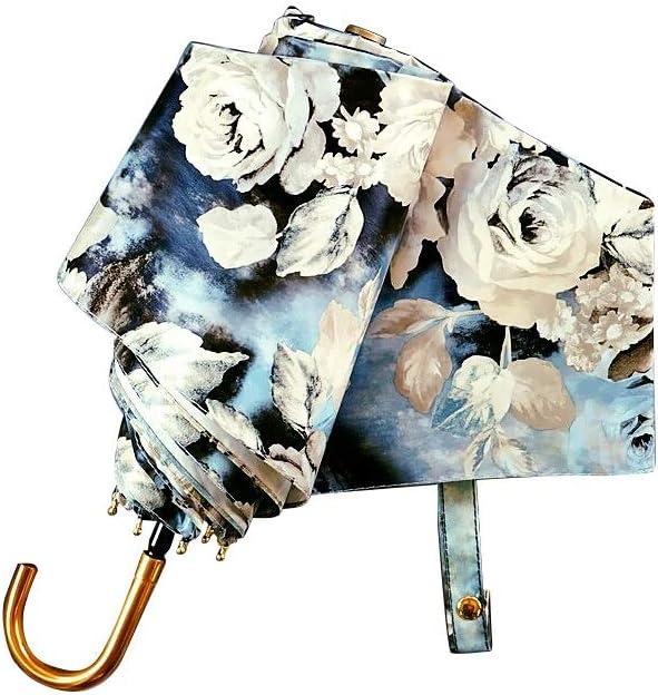 Conemmo Mini Umbrella Female Ultra Light Small Umbrella Anti-UV Folding Portable Umbrella Dual-use Color Plastic Sunscreen Umbrella