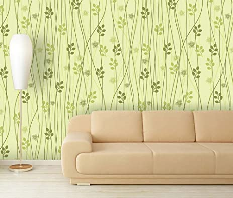 Amazon.com: Wall26 - Large Wall Mural - Seamless Floral Pattern ...