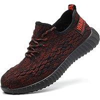 Gainsera Zapatos de Seguridad Zapatos de Trabajo Zapatos