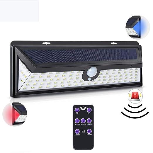 Luz Solar Exterior 92 Leds Con Sensor De Movimiento, Función De ...
