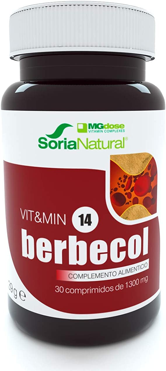 Soria Natural - Berbecol Vit&min 14 - Complemento dietético - 30 ...