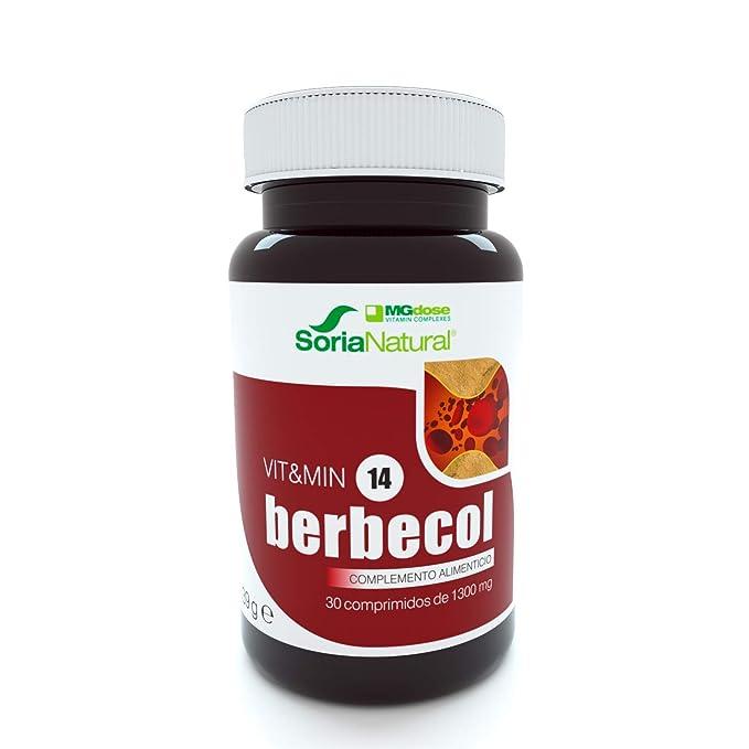 Soria Natural - Berbecol Vit&min 14 - Complemento dietético ...