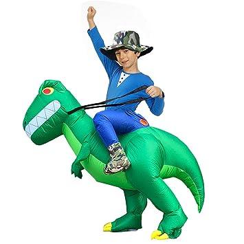 YusellYu Alien - Disfraz Hinchable de Dinosaurio para Halloween ...