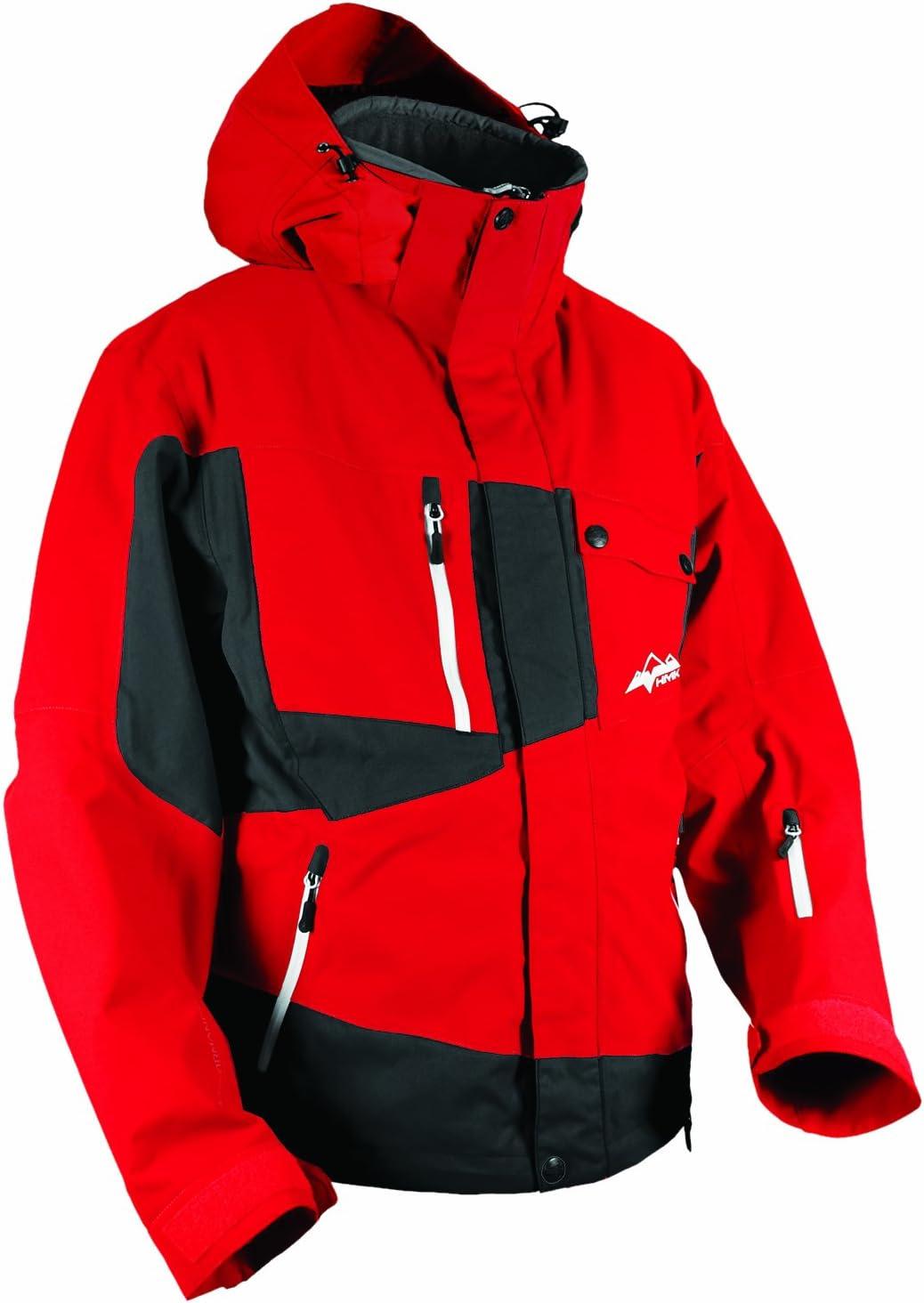 Black, Medium HMK Mens Peak 2 Jacket