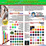 GERCUTTER Store - COMBO No.3_Neon: 3 yards Siser NEON GLITTER 20'' + 3 yards Siser GLITTER 20'' + 3 yards Siser EASYWEED 15'' Heat Transfer Vinyls (Mix & Match your favorite colors)