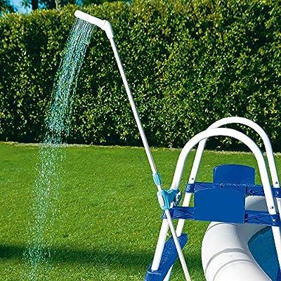 Bestway 8321624 8321624-Ducha y Manguera para Escalera, Azul, 57x16x7 cm: Amazon.es: Jardín