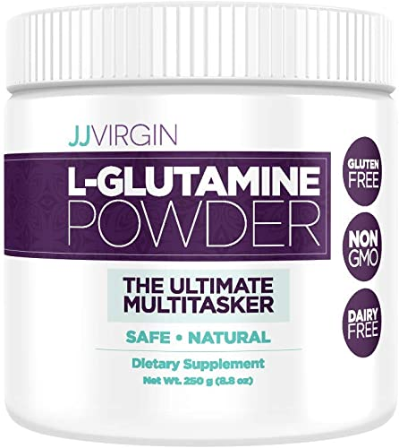 JJ Virgin L-Glutamine Powder – Supports Digestive and Immune Health 83 Servings, 250 Grams