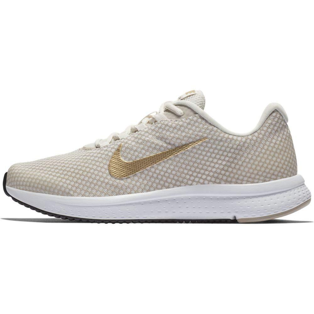 f18718fd1044b Nike Women s Runallday Phantm-M Gold Running Shoes (898484-017)  Amazon.in   Shoes   Handbags