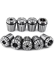 9Pcs ER32 Spring Collet Set for CNC Workholding Engraving Machine and Milling Lathe Tool 2-20mm