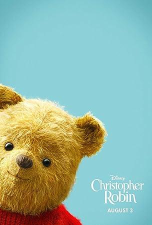 映画ポスター プーと大人になった僕 Christopher Robin プーさん ディズニー US版