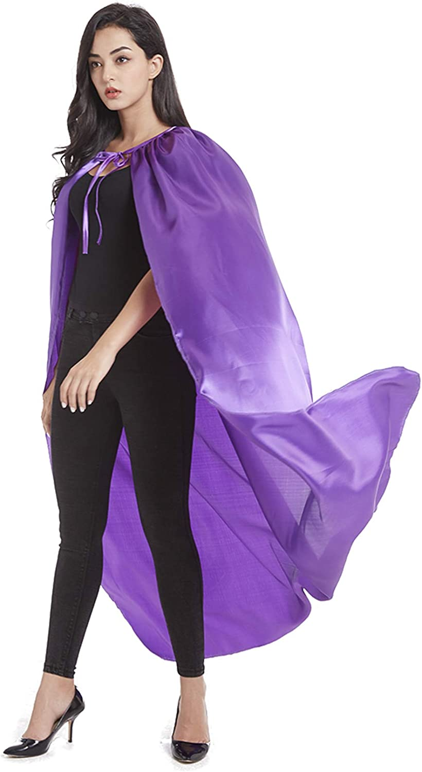 Crizcape Adults Capes Womens and Mens DIY Dress up Costume Capes for Party