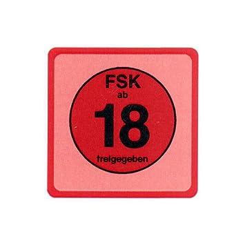 20 Stück Fsk 18 Aufkleber Sticker Fsk Ab 18 Amazonde