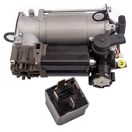 Air Suspension Compressor for Mercedes Benz CLS500 CLS55 CLS550 E320 E500  S600 S430 W220 W211 W219 Air Pump w/Relay 2203200104