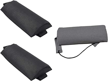 2pcs Sponge Lounge Recliner Headrest Cushions Replacement for Sling Chairs