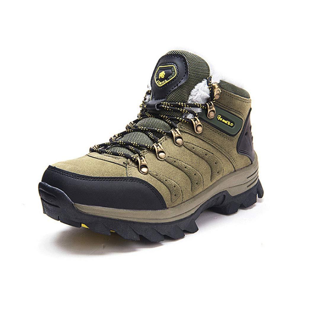 ASHLQ Hombres Botas de Senderismo Zapatos de Trekking Impermeables ...