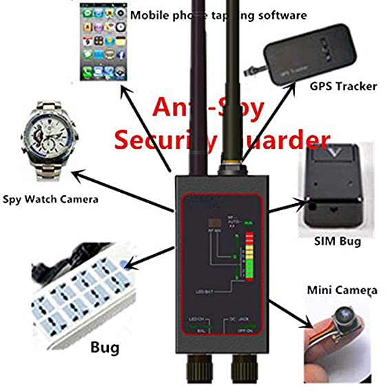 XCUGK Detector De Señal Anti-Espía RF GPS para Cámara Oculta ...