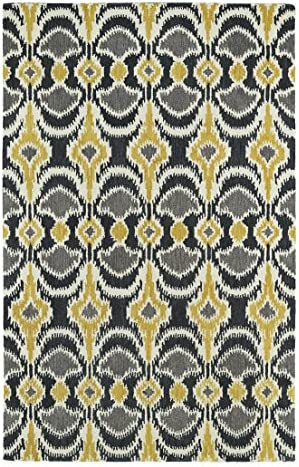 Kaleen Rugs Global Inspirations Rug, Yellow, 9 x 12