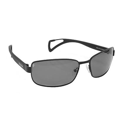 63fb8fb725 Zoinx Men Wrap Polarized Sunglasses Black Frame-Gray Lens. Roll over image  to zoom in