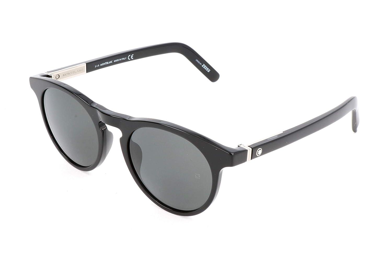 Mont Blanc Unisex adulto Gafas de sol, Negro (Black), 51 ...
