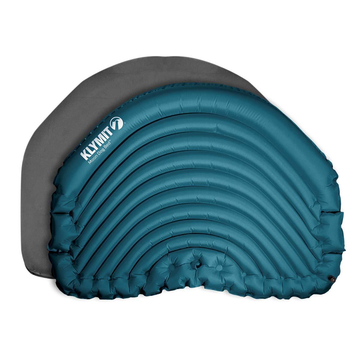 Klymit Unisex's Moon Dog Bed, Small Medium, bluee Black, One size
