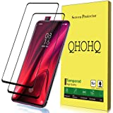[2 Pack] QHOHQ Screen Protector for Xiaomi Mi 9T / 9T Pro,[Full Coverage] Tempered Glass Case Friendly Protection Film…