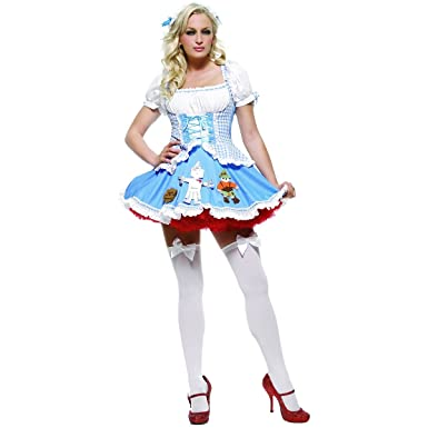 Miss Dorothy Adult Costume - X-Small  sc 1 st  Amazon.com & Amazon.com: Sexy 2Pc Miss Dorothy Wizard Of Oz Halloween Costume ...