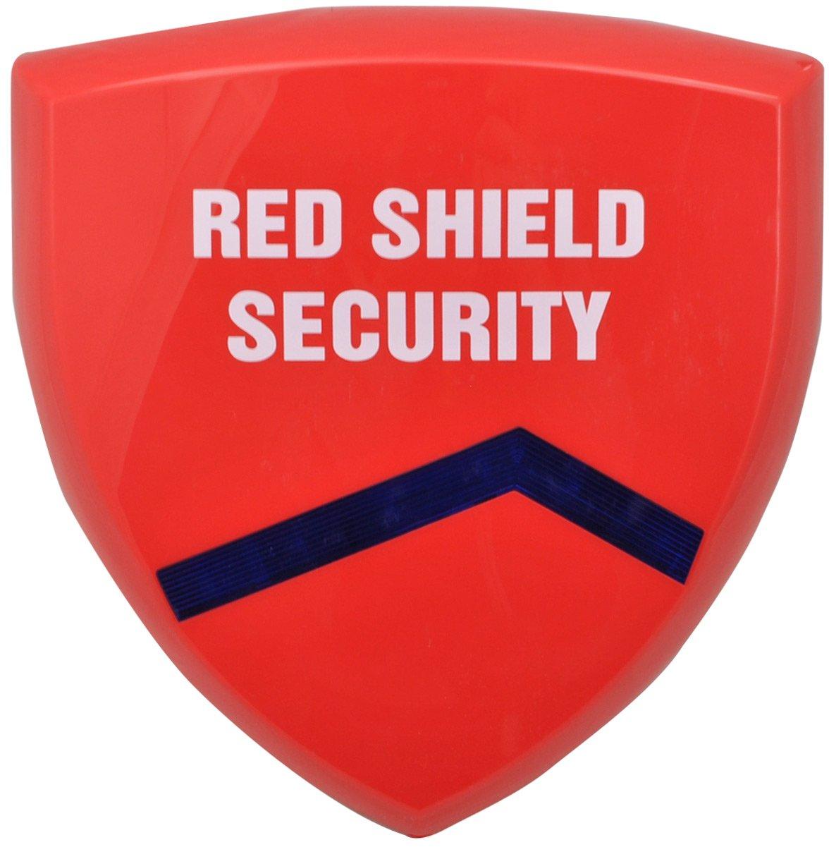Red Shield WS-209 Inalámbrica Exterior-Sirena para Sistema de Alarma Inalámbrico WS-100