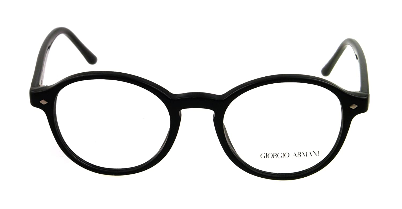 Amazon.com: Giorgio Armani Eyeglasses AR 7004 BLACK 5001 AR7004 ...