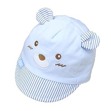 9f2aa3861 Amazon.com: Wcysin Newborn Cotton Cap, Soft Comfortable Cap Hat for ...