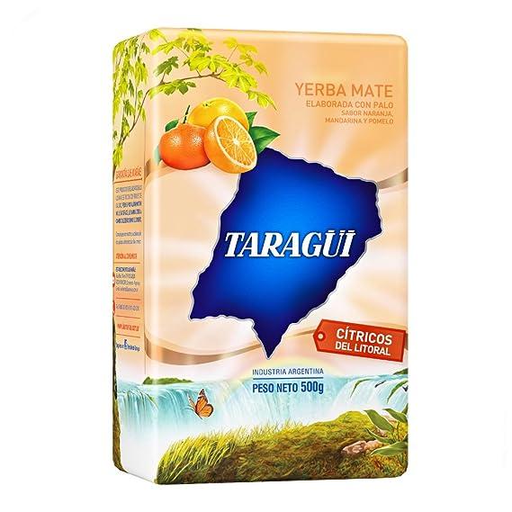 Yerba mate Taragui Citricos del Litoral 500g