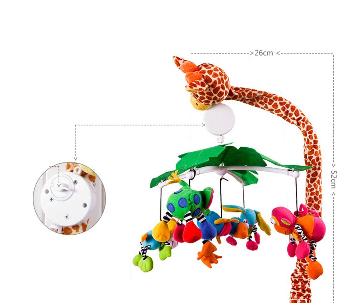 Bebé calmante Musical Cuna móvil, Sika Deer: Amazon.es: Bebé